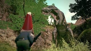 gnome chompski t-rex